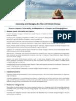 IPCC WGII AR5 SPM Top Level Findings