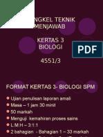 teknik menjawab kertas 3 biologi