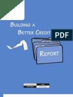 Bulding a Better Credit Report
