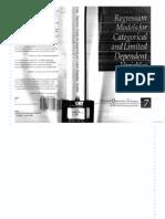 Regression Models for Categorical