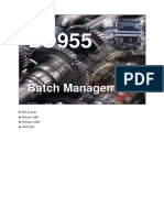 LO955 Batch Management