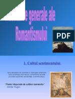 prezentare trasat romantism
