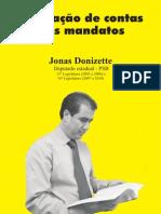 Prestação de Contas Dos Mandatos