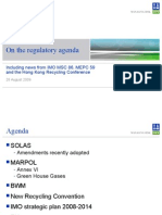 Latest amendments to SOLAS & MARPOL.ppt