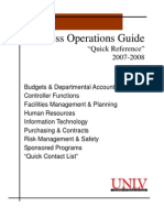 Business Operations Guide April 2007