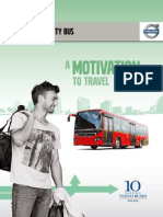 Volvo 8400 City Bus Brochure for Sales Kit