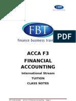 Tac f3 Notes