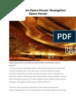 Analisa Opera House Guangzhou