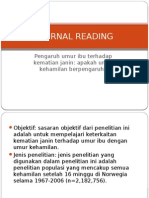 Journal Reading OBGYN