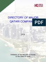 Directory of Major Qatari Companies