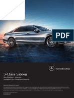 S Class Specifications 11 2014