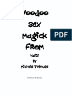 Voodoo Sex Magick From Haiti by Michele Tolouse