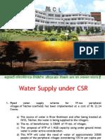CSR Water Road