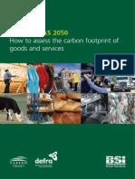 PAS 2050 - 2008 (Guide)