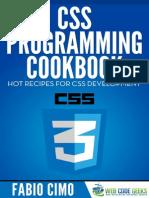 CSS Programing WEB