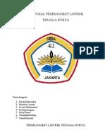 Proposal Pembuatan Pembangkit Listrik Tenaga Surya(ELEKTRO)