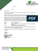 Surat Undangan Siaga Banjir Jateng