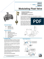 Modulating Float Valves