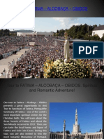 Tour to FATIMA – ALCOBACA – OBIDOS - Spiritual and Romantic Adventure!