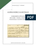 A Marcello Concerto Ottavo Score