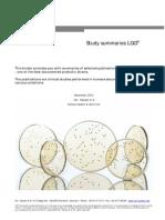 Study Summaries LGG