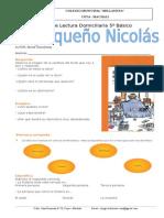 Guía de Apoyo de Lectura Domiciliaria 5º Básico El Pequeño Nicolas