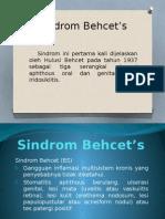 Sindrom Behcet's