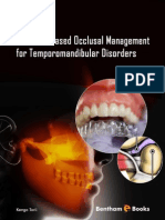 Evidence-Based Occlusal Management for Temporomandibular Disorder