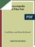 Encyclopedia of Film Noir 2007