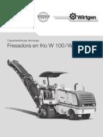 Frezadora w100 Fef-01