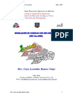 Modelamiento Hidrologico de Cuencas Con HEC-HMS y SIG-UNA