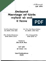 Jyotish_Delayed Marriage of Girls_ KN.rao