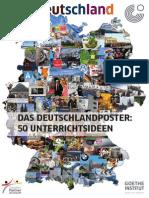Deutschlandposter 50 Unterrichtsideen