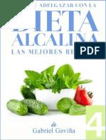Dieta Alcalina - Las Mejores Recetas - Gabriel Gavina