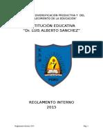 Reglamento Interno 2015 Corregido