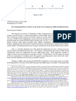 NARUC Letter to Geithner in Re BTOP Stimulus Grant Taxation 03-04-2010