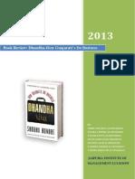 Dhanda - Book Review