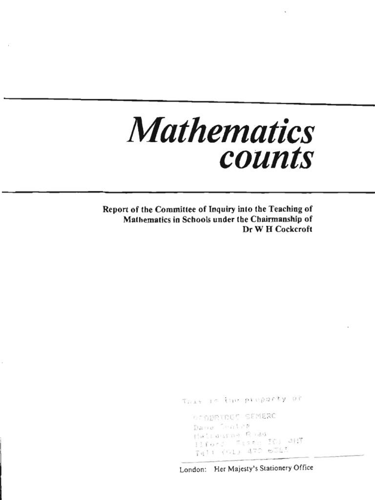 Mathematics counts full mathematics physics mathematics fandeluxe Choice Image