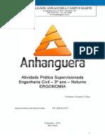 ATPS Ergonomia