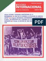 Revista Internacional - Nuestra Epoca N°8 - Edición Chilena - Agosto 1981
