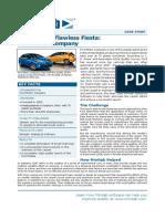 (Journal) Ford Motor Company - Using MINITAB Sofware