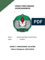 LAPORAN PERCOBAAN HIDROKARBON.docx