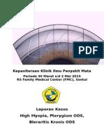 Laporan Kasus High Myopia