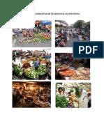 Contoh Gambar Pasar Di Indonesia