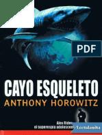 Cayo Esqueleto - Anthony Horowitz