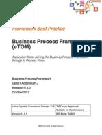 GB921J Buenas Prácticas Business Process Framework  R11.5
