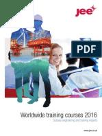 Jee 2016 Training Brochure