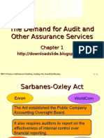 The Demand for Audit and Other Assurance Services