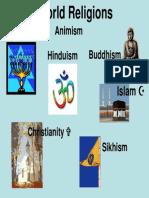 powerpoint world religions  1