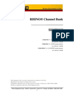 Rhino CB24 Manual